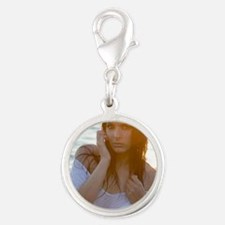smallposter1 Silver Round Charm