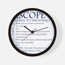 iscope Wall Clock