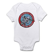 USS BLUEGILL Infant Bodysuit