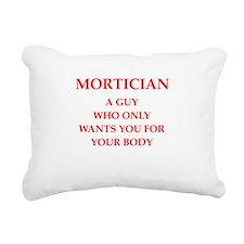 mortician Rectangular Canvas Pillow