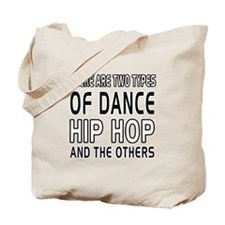 Hip Hop Dance Designs Tote Bag
