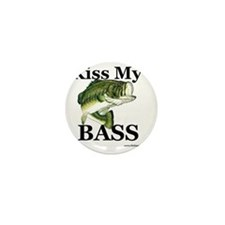 kiss_my_bass_new Mini Button