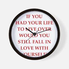 arrogant Wall Clock