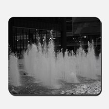 bw daley center fountain Mousepad