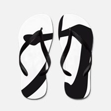 Chinese sign strength Flip Flops