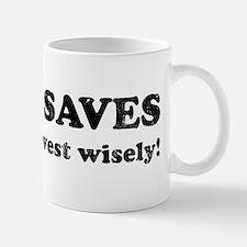 jesus saves1 Small Small Mug