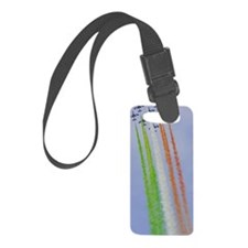 Italian Flag Air Display Luggage Tag
