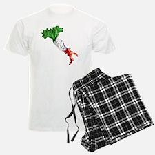 Italian Flag Map Pajamas