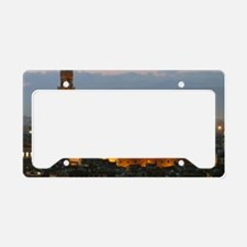 Florence at Night License Plate Holder