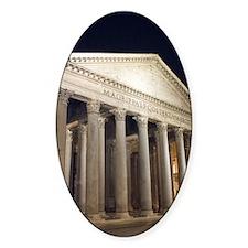 Pantheon at Night Decal