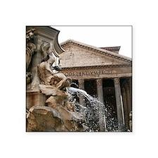 "Pantheon Square Sticker 3"" x 3"""