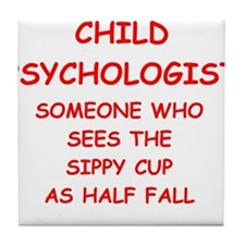 child psychology Tile Coaster