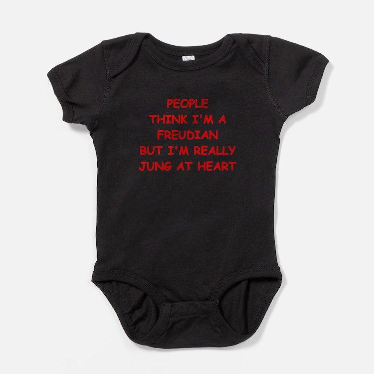 psychiatry Baby Bodysuit