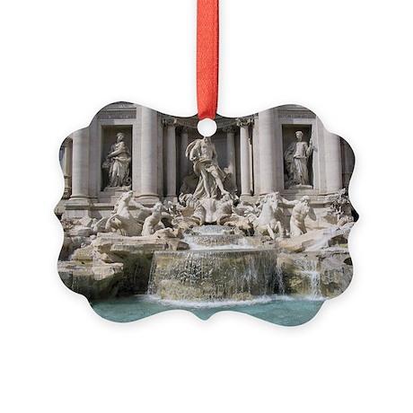 Trevi Fountain Picture Ornament