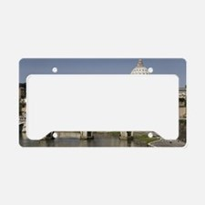 Vatican over the River License Plate Holder