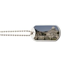 Vatican over the River Dog Tags