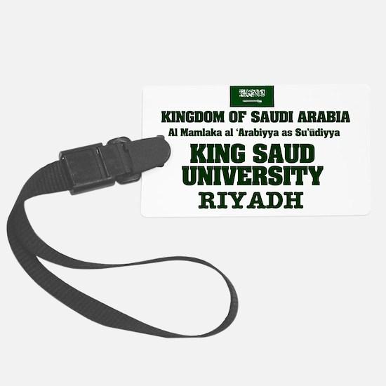 SAUDI ARABIA - KING SAUD UNIVERS Luggage Tag