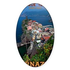 Vernazza from Above Decal
