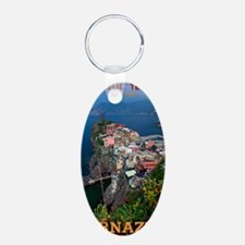 Vernazza from Above Keychains