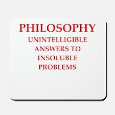 philosophy Mousepad