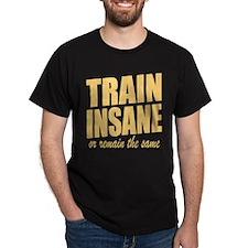 TRAIN INSANE or remain the same T-Shirt