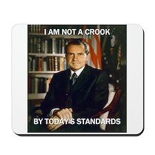 i am not a crook Mousepad
