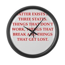 matter Large Wall Clock