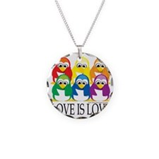Love-Is-Love-Penguins-Stacke Necklace