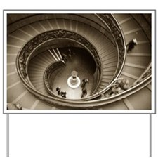 Vatican Staircase Yard Sign