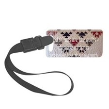 good friends quilt Luggage Tag