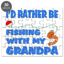 Rather Be Fishing With Grandpa Puzzle