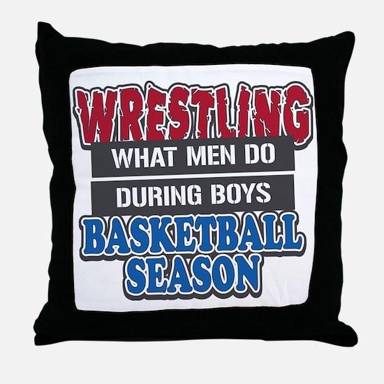 what men do Throw Pillow