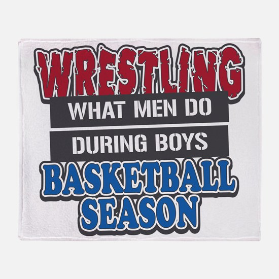 what men do Throw Blanket