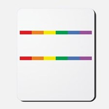 Live-Love-Equality-blk Mousepad