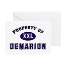 Property of demarion Greeting Cards (Pk of 10)