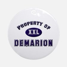 Property of demarion Ornament (Round)
