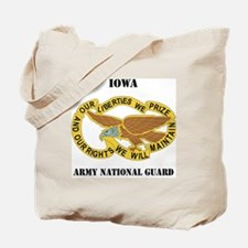 IOWA ANG with text Tote Bag