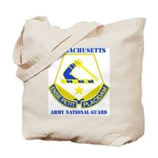 MASSACHUSETTS ANG with text Tote Bag