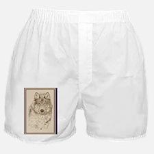 Wolf_KlineY Boxer Shorts