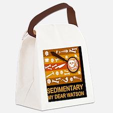 sedimentarywatson3c Canvas Lunch Bag