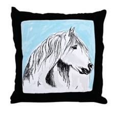the camargue Throw Pillow