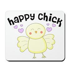 Happy Chick Mousepad