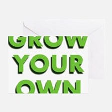 Grow Your Own Greeting Card
