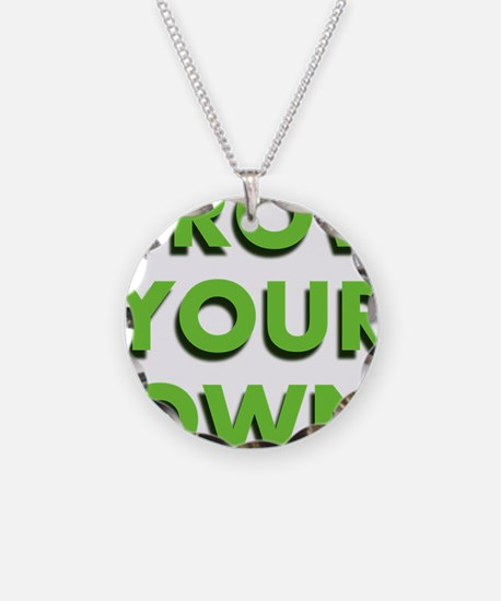 Grow Your Own Necklace