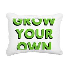 Grow Your Own Rectangular Canvas Pillow