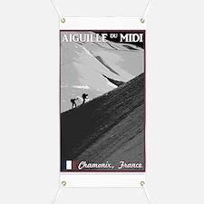Aiguille du Midi Arete Banner