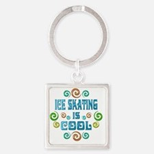 iceskate Square Keychain