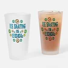 iceskate Drinking Glass