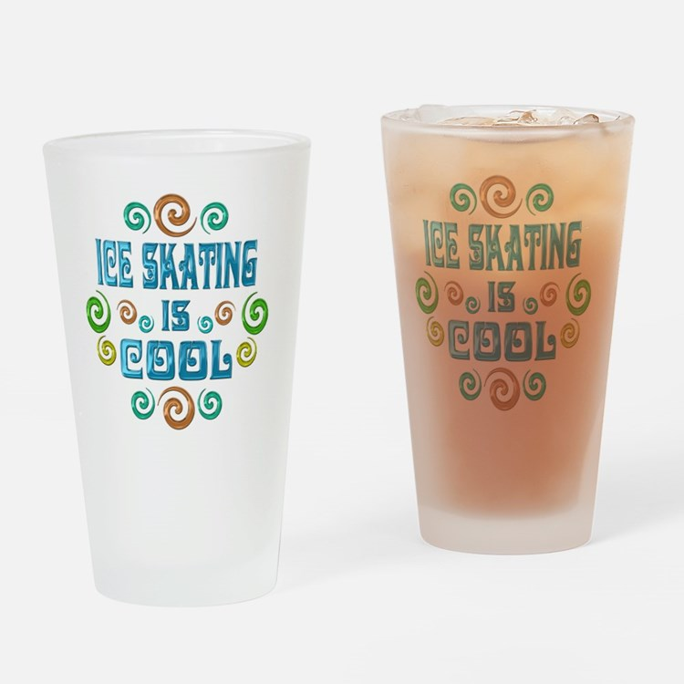 iceskate Drinking Glass