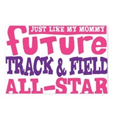 future all star GIRL Postcards (Package of 8)